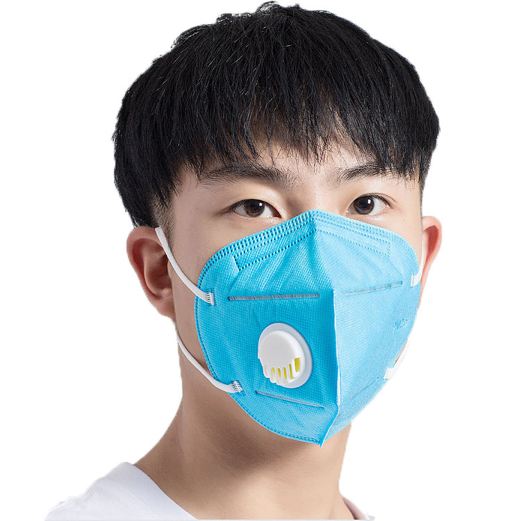 Factory Face Mask High Quality KN95 Folded Dust Mask with Valve